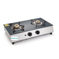 Glen Stainless Steel Plus Glass Gas Stove