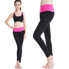 Vêtements de sport femmes Leggings Pantalon taille haute Yoga Workout Running Sports