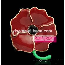 Broche de moda em flor de esmalte flor