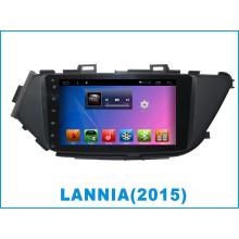 Android System Car DVD para Lannia 8 pulgadas de pantalla táctil con navegación GPS