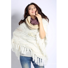 Acrylic Knitted Scarf (12-BR-201712-6.1)