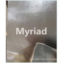 Tissu en verre à isolation thermique en aluminium Fabricant