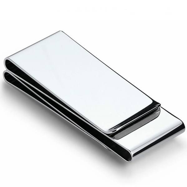 Double Layer Metal Clip Blank Wallet Money Clip