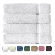2015 top selling pure cotton white bath towels from china supplier