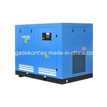 L'huile électrique refroidie par air a trompé le compresseur rotatoire de vis (KD75-10)