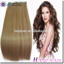 Most Popular Double Drawn Thick Bottom tape skin weft human hair extension