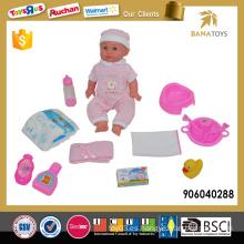 Juguete de 14 pulgadas muñeca pvc para niños