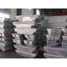 Прямая цена завода первичного алюминия Ал слиток слиток 99.7% А7