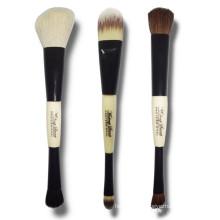 Ensemble de brosse à maquillage à double extrémité à 3 pièces (TOOL-199)