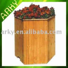 Wooden Garden Flower Planter