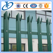 Stainless steel palisade fencing