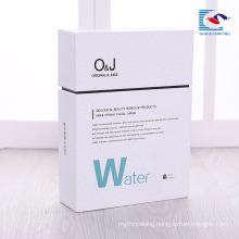 Custom logo high quantity cosmetic cardboard magnetic box with insert