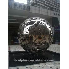 Большая современная известная скульптура из нержавеющей стали для украшения сада