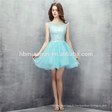 2017 meilleure qualité personnalisée menthe couleur courte conception robe de demoiselle d'honneur en mousseline de soie