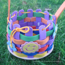 Arte eva arte set formación educativa infantil 3D Puzzle eva eva kit juguete DIY de la espuma