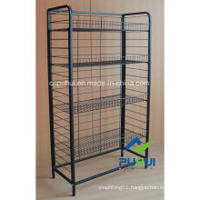4 Layer Ajustable Wire Shelf Stand (PHY308)