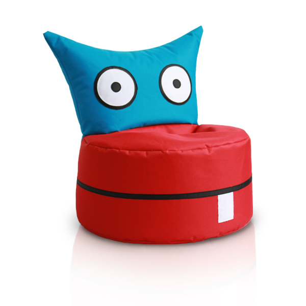 Red Owl Bean Bag