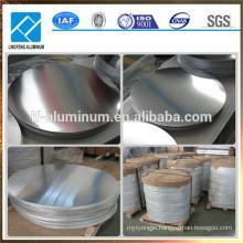 1050 1060 1100 3003 3004 Aluminum Disc Aluminum Circle Plate for Cookware and Utensils