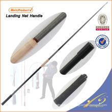 LNH001 barra de pesca de grafito en blanco caña de pescar Weihai OEM carpa de pesca red de aterrizaje maneja