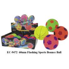 Flashing Sports Bounce Ball