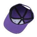 casquettes de chapeaux de bébé de concepteur chapeau de bord plat de bébé avec le logo fait sur commande