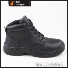Industrial Leather Safety Boots with Steel Toe and Steel Midsole (SN5327)