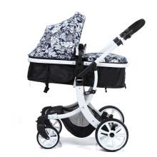 Kleinkinder Kinderwagen für Neugeborene und Kleinkinder Cabrio Stubenwagen Luxus Kinderwagen