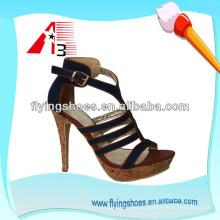 2015 фарфоровый завод для дам высокой пятки женщин обувь