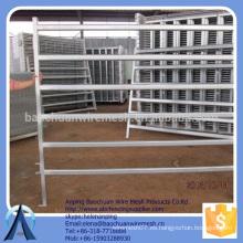 Galvanizado Oval Rail Panels (Pins Included) paneles de cercado de ganado valla de metal