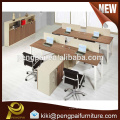 New design office furniture work station for four person