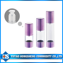 Hs-008b 50ml Capacidad Presione la botella de la bomba sin aire utilizando todo el agua
