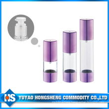 Hs-008b 50ml Capacity Press Airless Pump Bottle Using All Water
