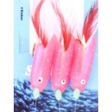 Leurre de pêche en plastique Sabiki sur la vente