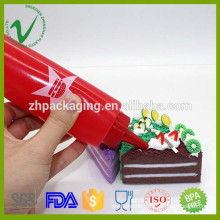 LDPE food grade different size empty plastic squeeze bottle for sauce packaging