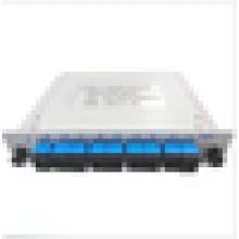 Diviseur optique 1X8 Blade, répartiteur de fibre optique classe PLC SC / UPC, diviseur 1 X 8 plc