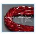 Lose Glas Rechteck Perlen Glasperlen 10-11mm