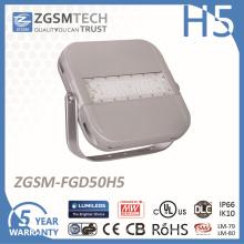 50W 5 anos de garantia LED Projector para iluminação exterior