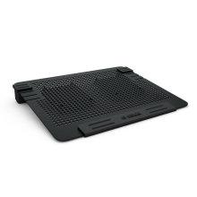 """Ventiladores duplos ORICO Todo o laptop de alumínio de 14 polegadas, almofada de refrigeração 15 """"Notebook Cooling Pad"""