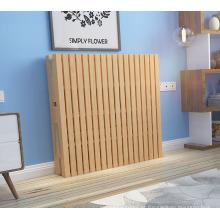Melhor preço boa qualidade adulto único dobrável camas de madeira maciça para o convidado lounge cama