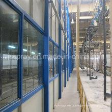 Linha de produção de revestimento de eletroforese para empresa de ônibus