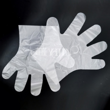 Gants en plastique transparent en gros