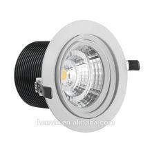 Alto brillo ce / rohs aprobado ip54 led downlight