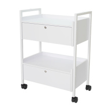 Salon Trolley Tray White