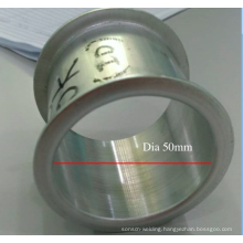 minor diameter tube edge flange machine for aluminum hollow pipe