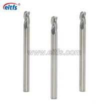 Solid Carbide HRC60 3 Flutes Corner Radius End Mill CNC Cutting Tools