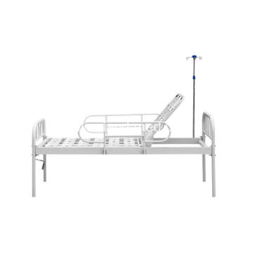 Iron Head Double-folding Bed Design Hospital Beds