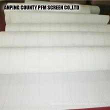 Poliéster sin fin de Pekín que forma la tela que teje para la fabricación de papel