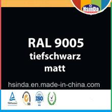 Revestimento de alta qualidade Ral Cor Ral 9005 Jet Black Powder