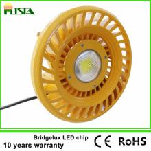 Luz alta de la bahía del poder más elevado 100W LED para las gasolineras