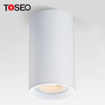 GU10 Surface Mounted Led Light 64mm Cylinder Ceiling  Downlight Fixture Mr16 Adjustable Recessed Downlights